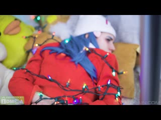 [manyvids] lana rain - dawn tied up bdsm christmas special (pokemon)