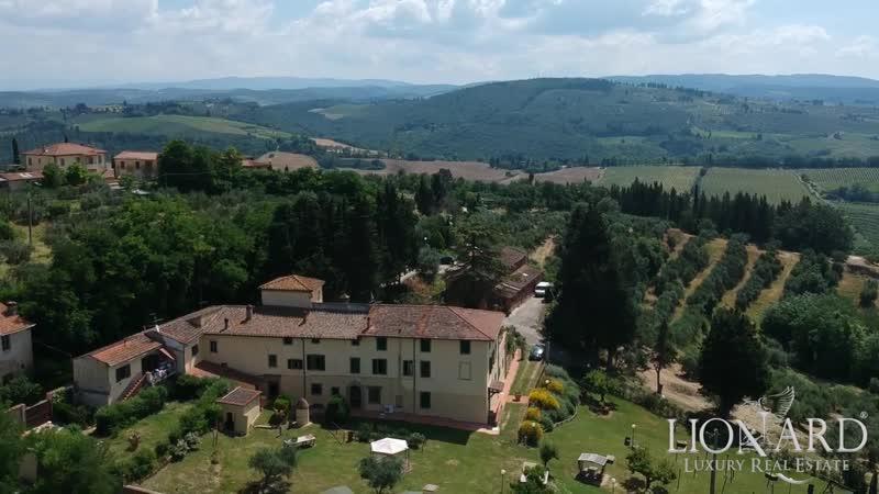 Active farm in the Chianti area, Tuscany, Italy