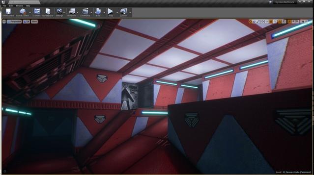 скриншоты уровней ремейка System Shock