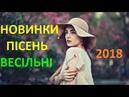 НОВИНКИ Весільних Пісень 2018 - Весільна Музика 2018. Кращі Весільні Гурти. Українська Музика