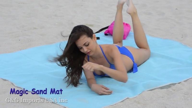 Пляжная подстилка анти-песок