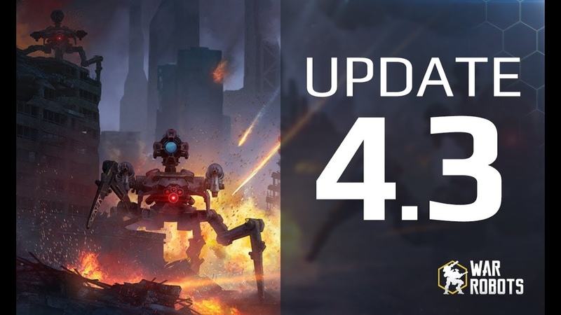Update 4.3 Overview: Suppression, Balance Overhaul and more | War Robots