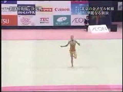 Ольга Капранова скакалка Aeon Cup 2007
