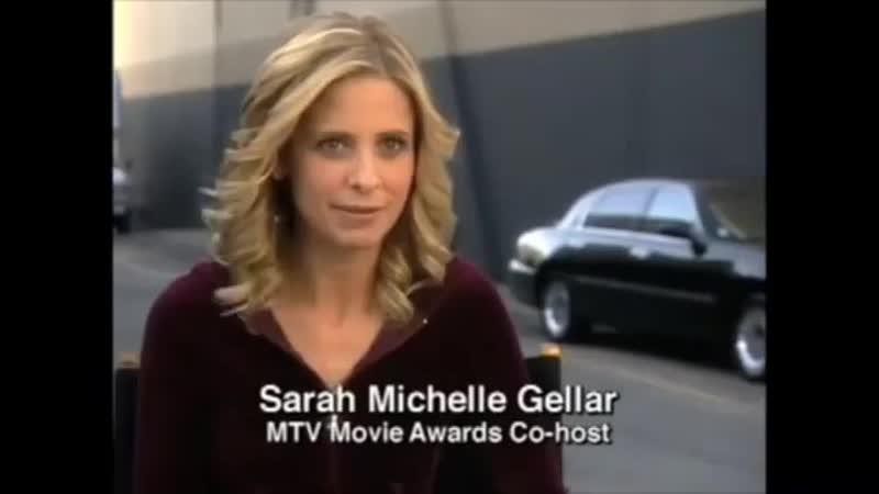 2002 06 01 Промо ролик церемонии вручения премии MTV Movie Awards с участием Сары и Джека Блека