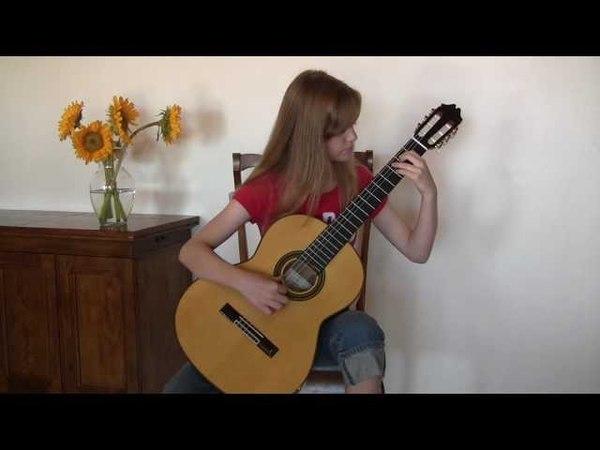 H. Villa-Lobos Etude No. 1 Performed by Grace Sheppard (age 12)