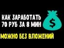КАК ЗАРАБОТАТЬ В ИНТЕРНЕТЕ Как быстро заработать деньги в интернете без вложений