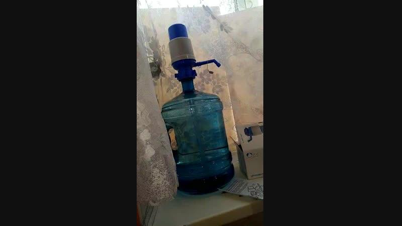механический кулер для воды