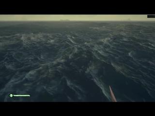 [Quantum Games] БИТВА С МЕГАЛОДОНОМ В SEA OF THIEVES!!!