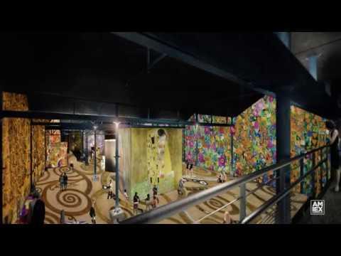 Découvrez l'Atelier des Lumières, premier centre numérique à Paris