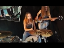 Billie Jean (Michael Jackson); Drum-Bass Cover by Milena and Sina