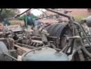 Мотоцикл с двигателем от советского танка T-55, объемом 38000 кубических сантиметров и мощностью 620 лошадиных сил.