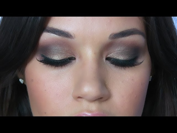 Bronzy Smoky Eye Makeup Tutorial - RECREATED | Eman