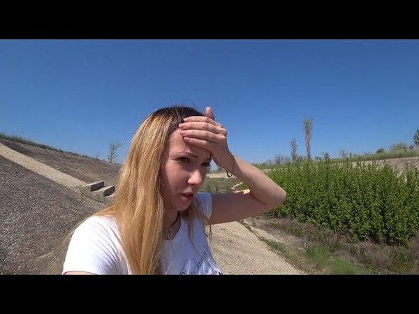 Крым 2018. ВЫСОХШИЙ крымский канал. Что с ПОЛЯМИ на западе Крыма?