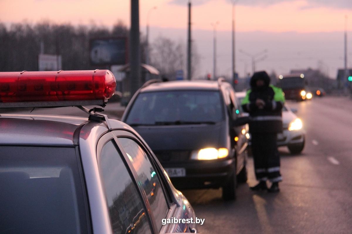 Итоги проведения массивной отработки автодорог Брестской области
