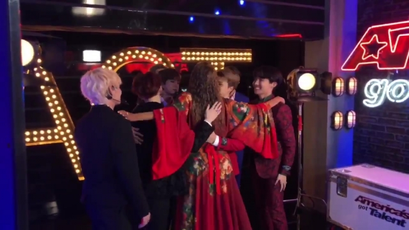 It's true, @BTS_twt give the best hugs! - - Fun Fact Moments before this, RM told me he wa