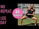 No Repeat Leg Day | For People Who Get Easily Bored!