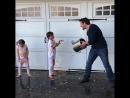 Misha with kids 2