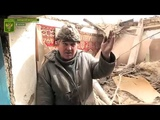 Огнем украинской артиллерии уничтожен жилой дом в Калиново. Опубликовано 24 мар. 2019 г.