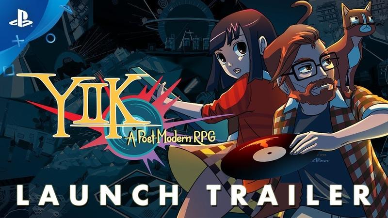 YIIK: A Post-Modern RPG - Launch Trailer   PS4