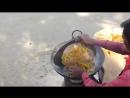 Как в Индии готовят уличную еду без масла