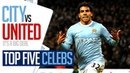 DZEKO or TEVEZ? | TOP 5 DERBY DAY CELEBRATIONS