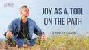 Joy as a tool on the path to awakening.