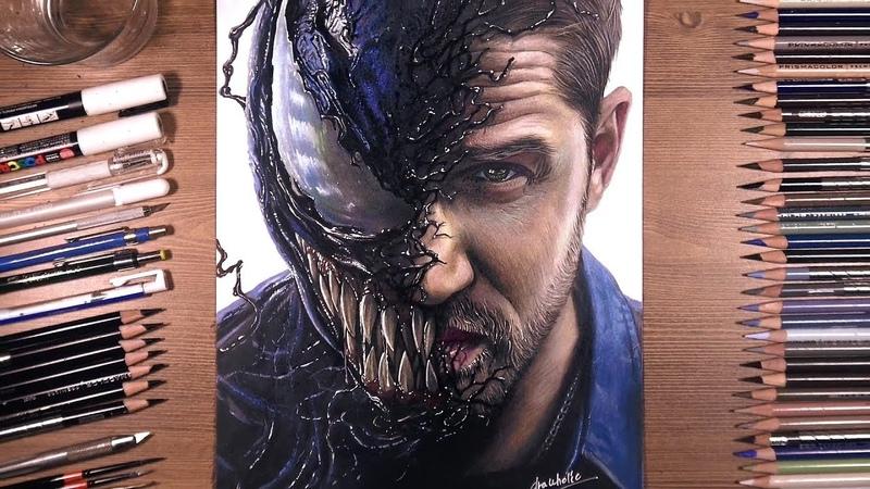 Drawing Venom (Tom Hardy) | drawholic