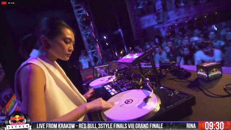 Red Bull 3Style 2018 - DJ Rina - Final Night