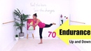 INTERVAL WORKOUT Total Body WORKOUT - Barlates Body Blitz Endurance 70 Up and Down