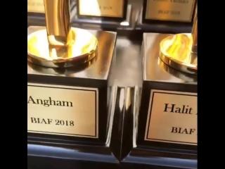 Награда для Бергюзар Корель и Халита Эргенча на Церемонии BIAF в Бейруте