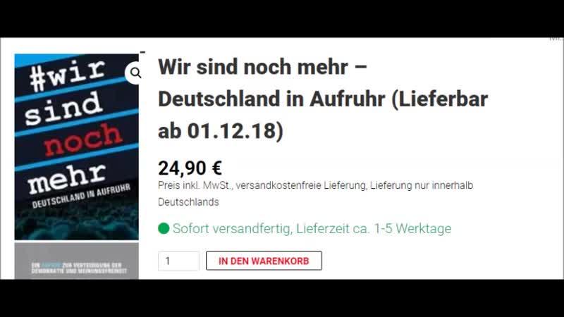 """Facebook löscht Buch der freien Medien """"Wir sind noch mehr – Deutschland im Aufruhr"""" schon vor Erscheinen"""