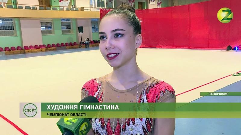 У Запоріжжі відбувся чемпіонат області з художньої гімнастики...