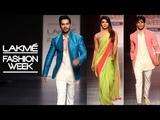 Varun Dhawan, Priyanka Chopra, Sidharth Malhotra Lakme Fashion Week