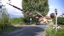 Spoorwegovergang San Pietro A Vico (I) Railroad crossing Passaggio a livello