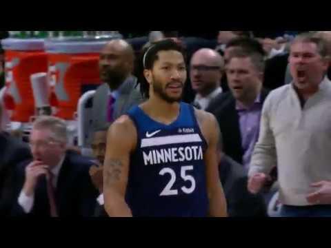Derrick Rose Highlights: 31 Points vs. Phoenix Suns