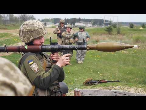 Old but Reliable RPG-7 Anti-Tank Rocket Launcher Target Live-Fire Shooting