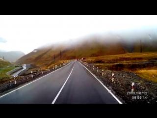 Modern Talking style 80s - Sadness Love Rain. Extreme road Kavkaz mountains travel remix