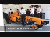 Jimmie Johnson and Fernando Alonso car swap