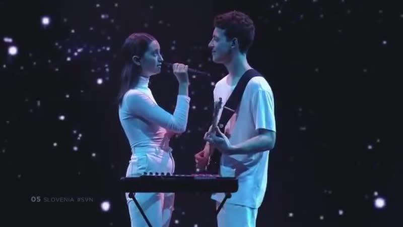 Slovenia - LIVE - Zala Kralj Gašper Šantl - Sebi - First Semi-Final - Eurovisi