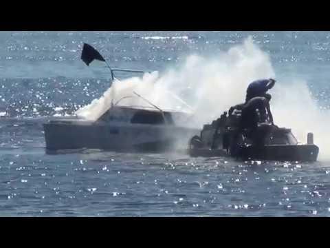 БРДМ-2 проверка на воде