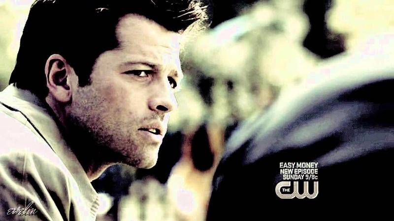 Dean & Castiel   He just let go. [8x01]