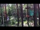 Верёвочный парк Кроны . Троллей.