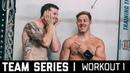 2018 CrossFit Team Series Ohlsen Mayer | Workout 1