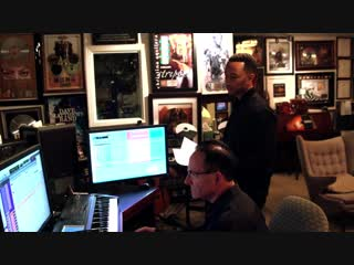Beauty and the Beast John Legend Ariana Grande Behind the Scenes Song Recording