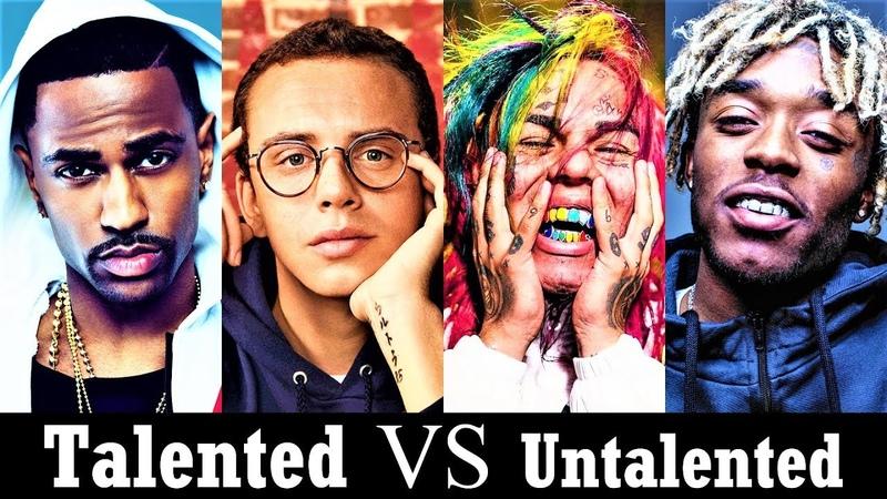 Talented Rappers Vs. Untalented Rappers [New School]