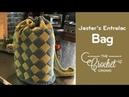 How to Crochet Jester's Bag of Tricks Entrelac Napsack