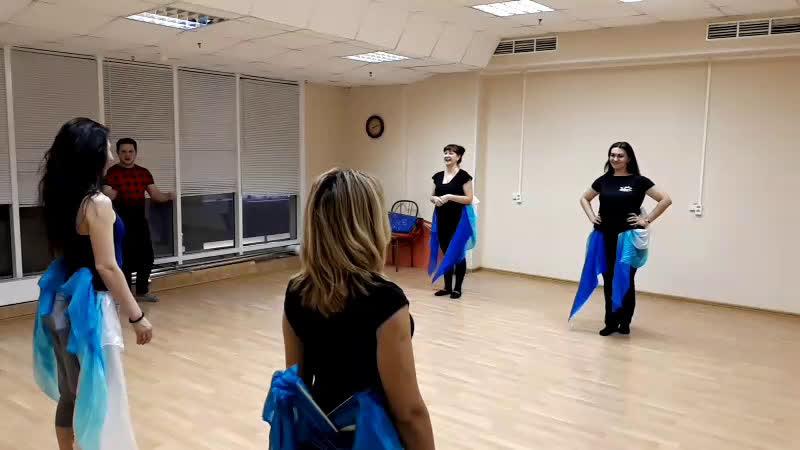 Репетиция к концерту Цыганская душа. 8 марта 2019. Балканские мотивы. Танец живота.
