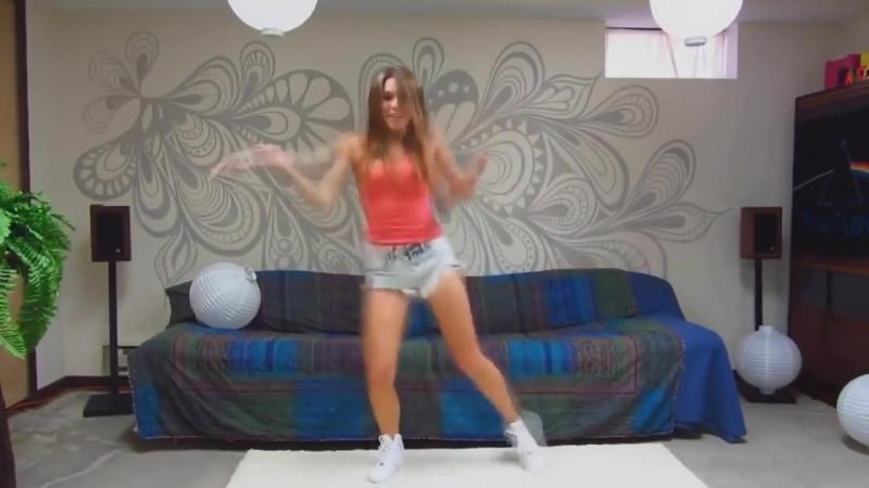 Шикарно танцует! Парни в шоке! Не каждая красотка так сможет! Вот так надо танцевать учись