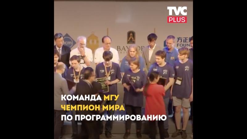 Русские выиграли в АСМ ICPC