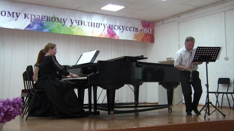 Госы. Концертмейстерский класс. Солист - Земсков Александр Геннадьевич (кларнет).